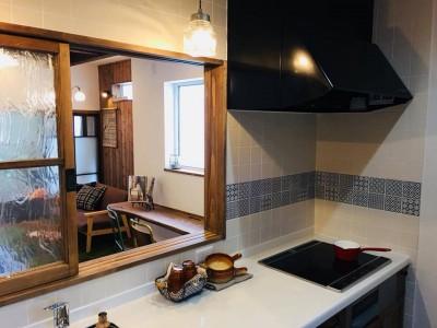 大貫建築キッチン