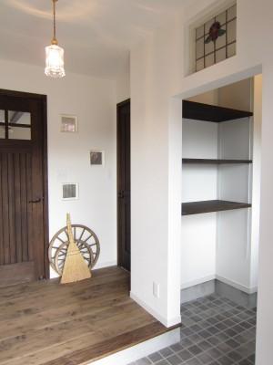 タケシバ建設 玄関