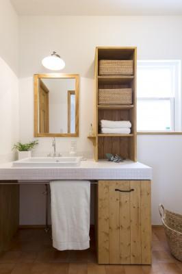 夢工房キッチンくらぶ 洗面